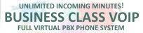 Unlimited Minutes Business Class DID Inbound VOIP Services